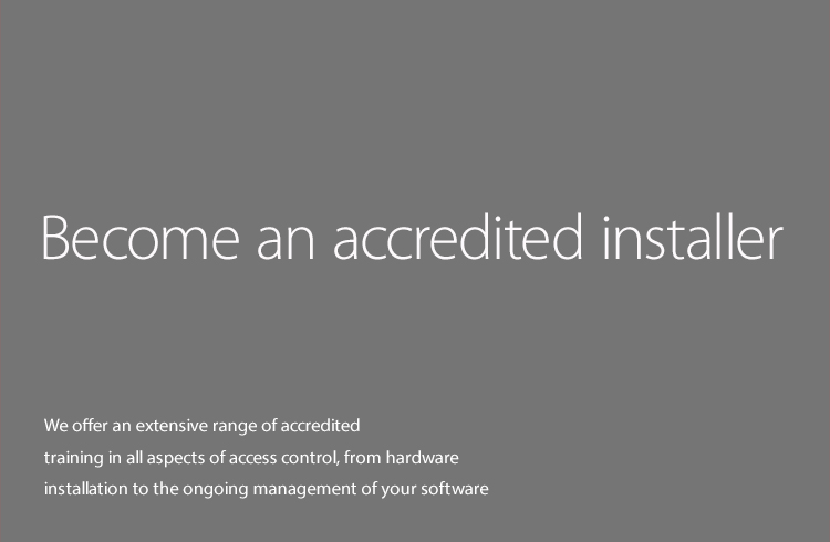 Become an accredited installer