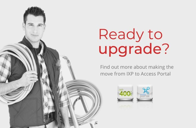 Upgrading from IXP to Access Portal access control